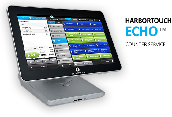 HarborTouch Echo - Counter Service - Panhandle POS